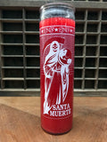 6Witch3 7-Day Candle - Santa Muerte - Red