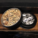 6Witch3 Herbal Spell Still I Rise - open tin showing herbs