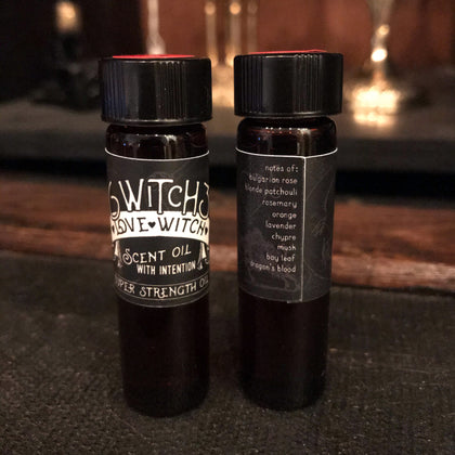 Love Witch - Scent Oil with Intention