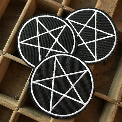 Pentagram Pentacle Patch