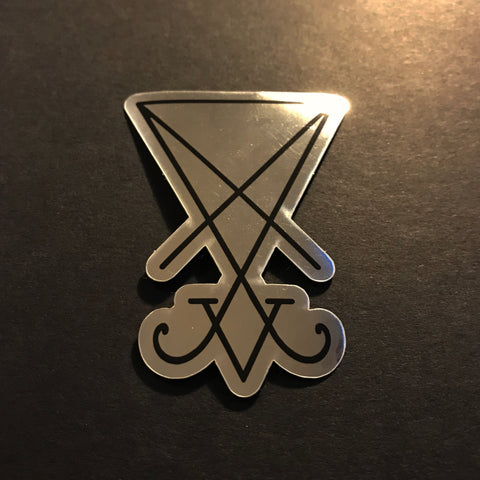 6Witch3 Sigil of Lucifer sticker