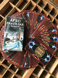 6Witch3 Afro Brazilian Tarot deck - box and card backs