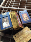 6Witch3 Golden Tarot showing guidebook and back of cards