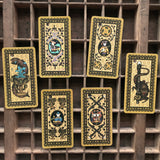 6Witch3 Medieval Cat Tarot, photo of six of the minor arcana cards