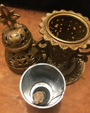 Brass Cathedral Incense Burner