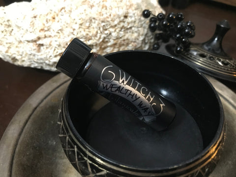 Wealthy Way Oil (Aeon) Anointing OIl. Hoodoo Condition Oil. Spell Oil.