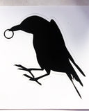 Raven with Ring Sticker