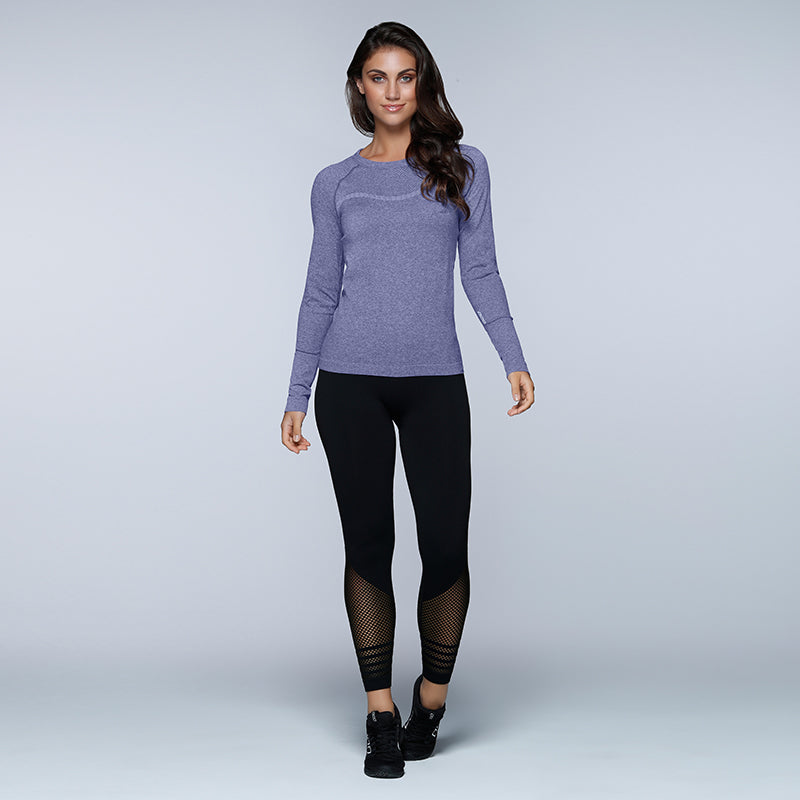 Caroline Seamless Long Sleeve Top