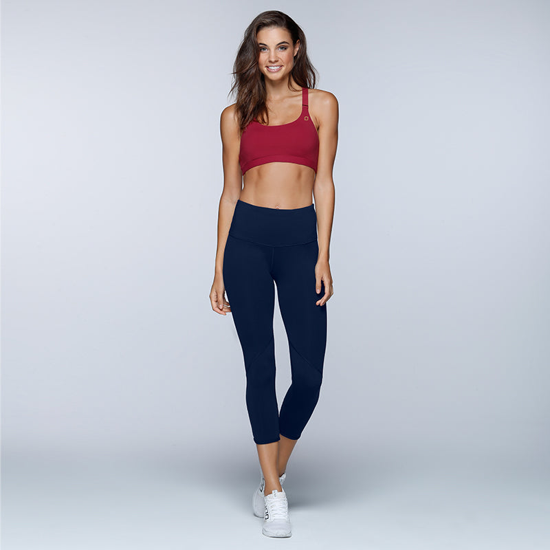 Merlin Black Mesh Workout Leggings