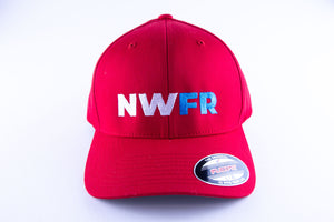 Red NWFR FlexFit Hat