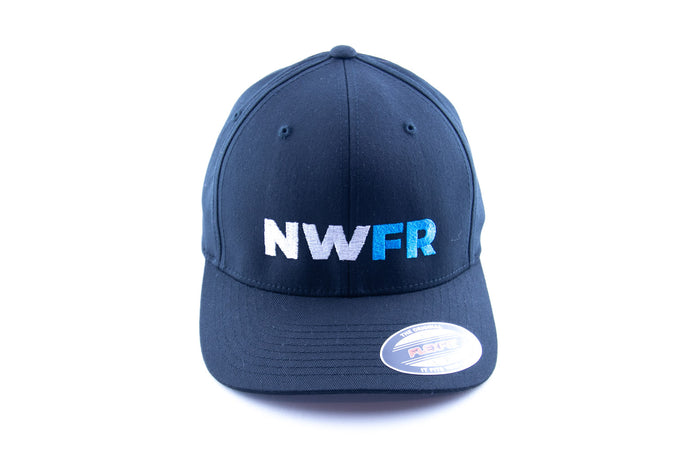 Black NWFR FlexFit Hat