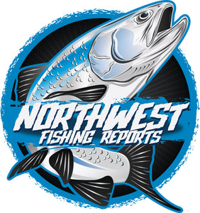 "4"" Northwest Fishing Reports Decal/Sticker"