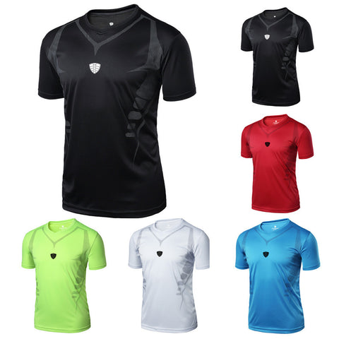 Men's Breathable Athletic Gym Shirt