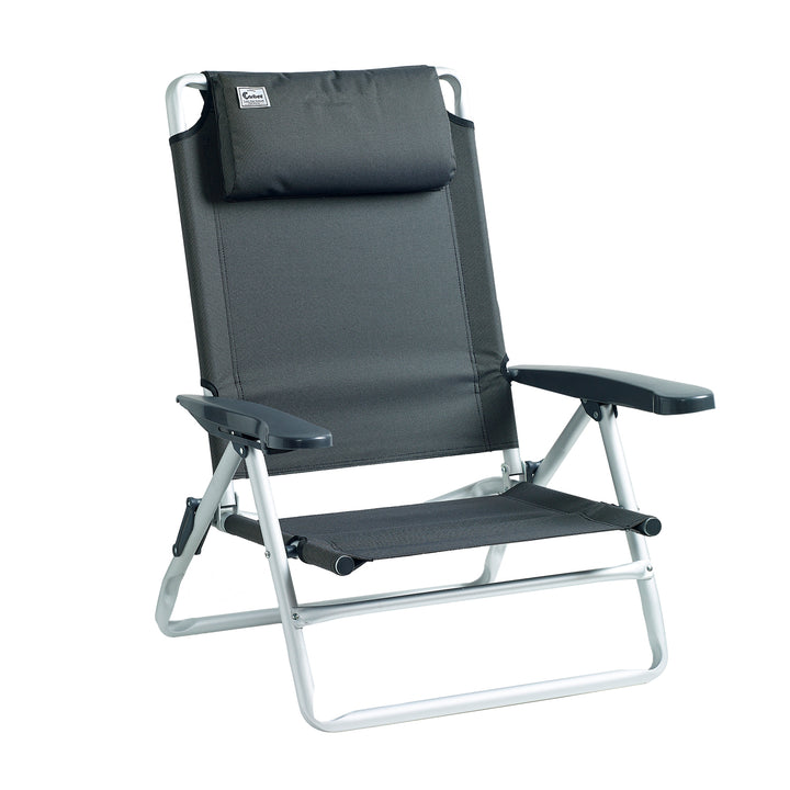 Outstanding Balmoral Reclining Beach Chair Caribee Backpacks Travel Alphanode Cool Chair Designs And Ideas Alphanodeonline