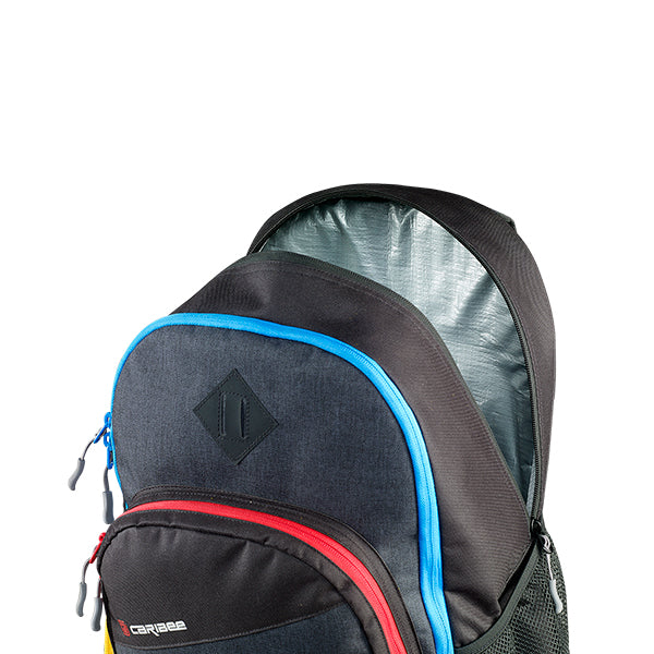 Caribee Bombora backpack wet/dry compartment