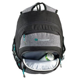 Chill backpack cooler compartment top view