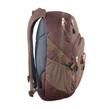 Chill backpack Madder Brown side view