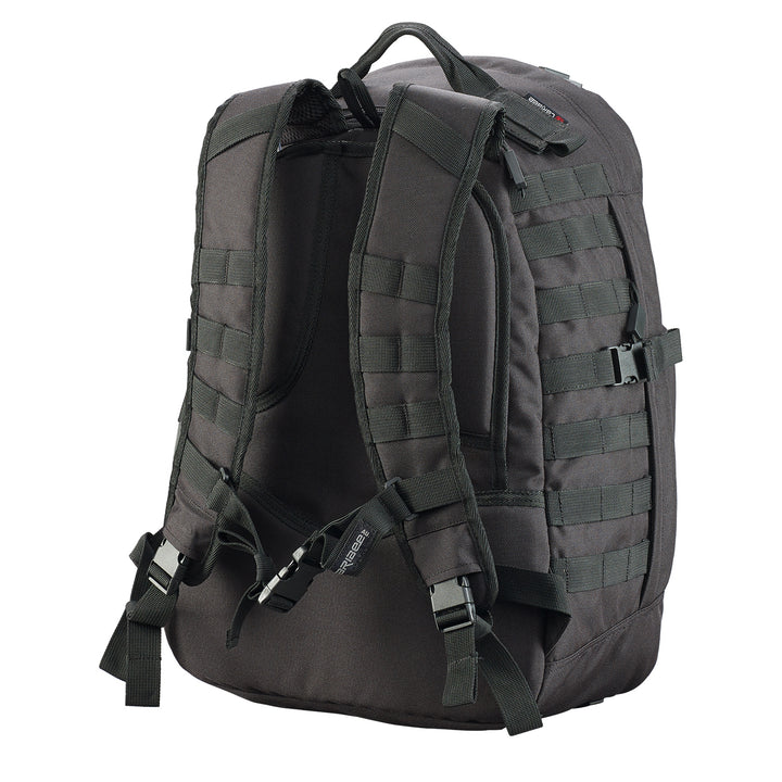 Caribee Combat 32L backpack black back system