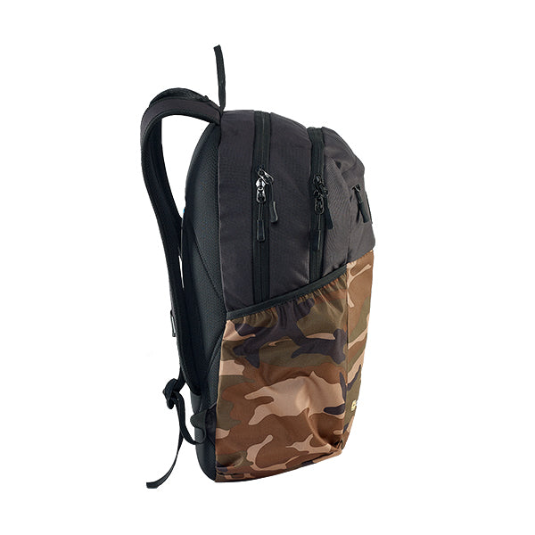 Caribee Cub backpack Camo side view