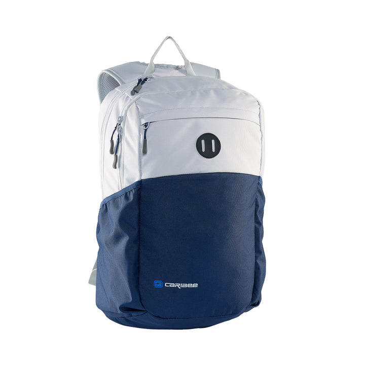 Caribee Cub backpack Snow/Navy