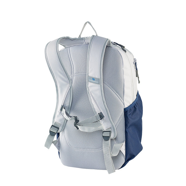 Caribee Cub backpack Snow/Navy harness