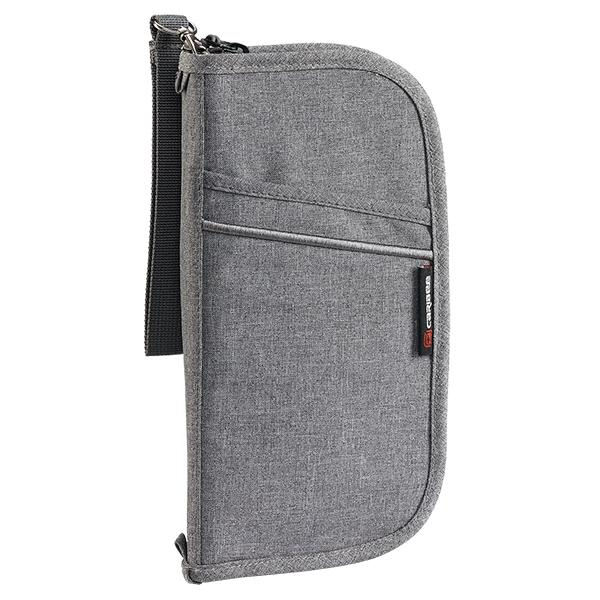 Caribee Document wallet in Charcoal