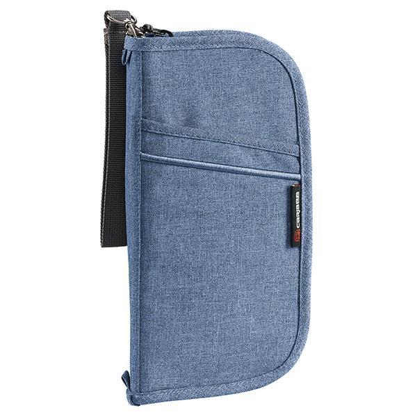 Caribee Document wallet in Blue