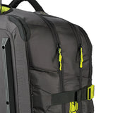 Multiple compartments and lockable zips