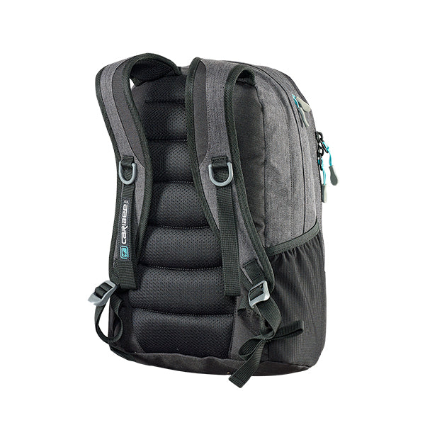 Caribee Hoodwink backpack Storm Black harness
