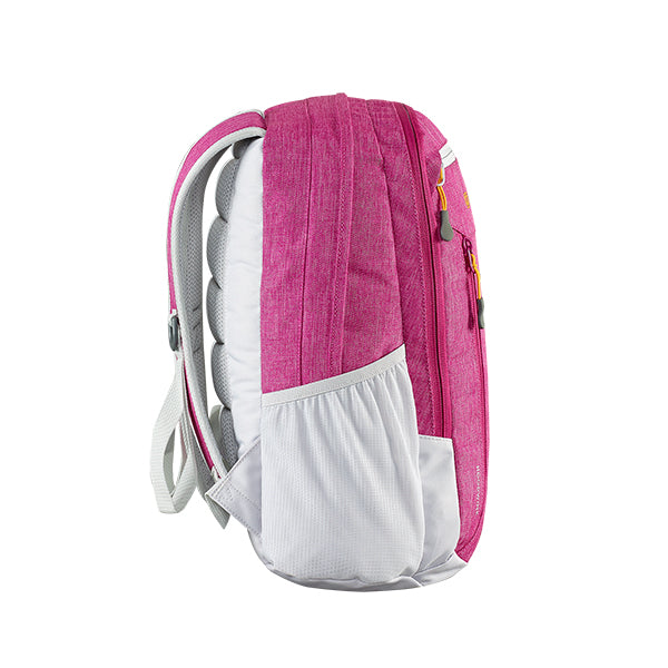 Caribee Hoodwink backpack Rubystone side profile