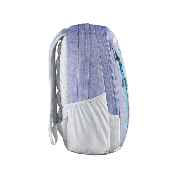Caribee Hoodwink backpack Violet side profile