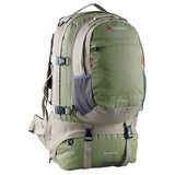 Caribee Jet Pack 75L travel backpack in Mantis Green