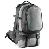 Caribee Jet Pack travel backpack in Storm Grey