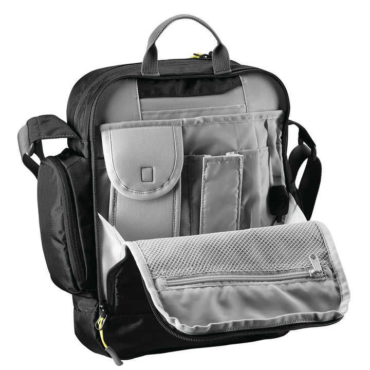 Caribee Jetset RFID Black rear pocket