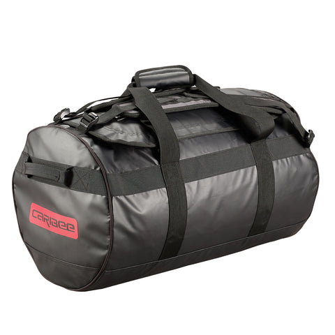 58ff1b3fa5 Caribee Kokoda 65L tarpaulin barrel bag black
