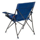 Caribee Lagoon Folding Chair back Navy