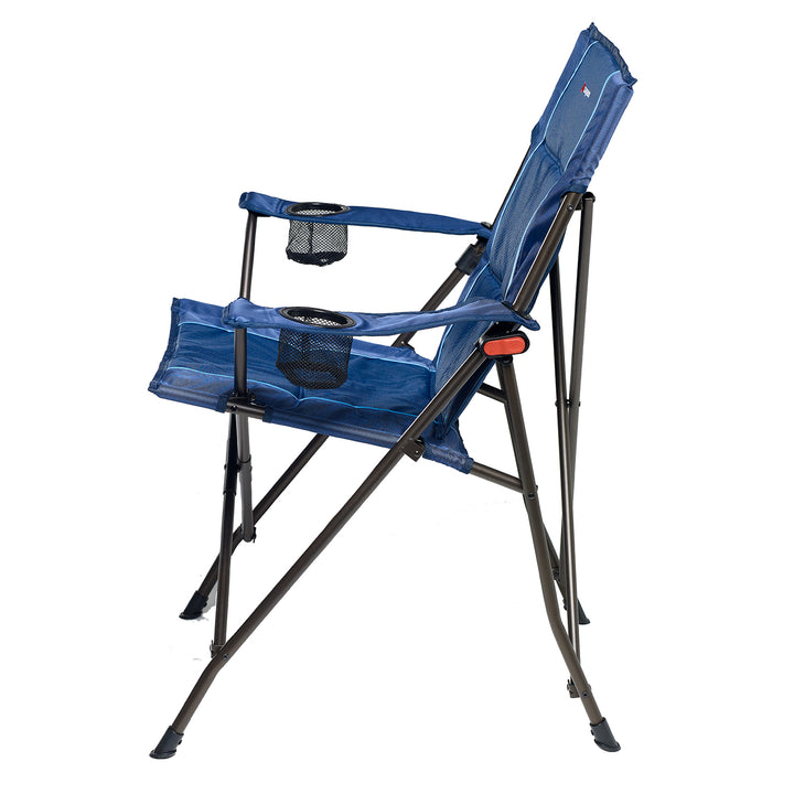 Caribee Lagoon Folding Chair Side Navy