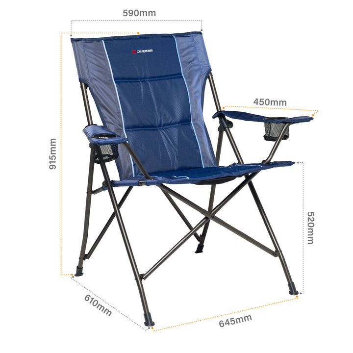 Lagoon High Back Jumbo Folding Chair