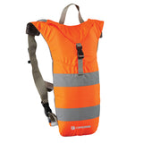 Caribee Nuke Hi Vis 3L hydration backpack orange