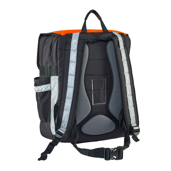 Caribee Pilbara safety backpack orange harness