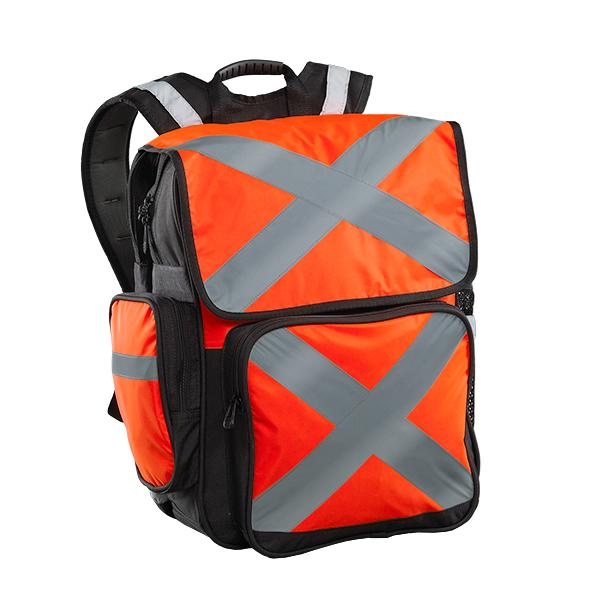 Caribee Pilbara safety backpack orange
