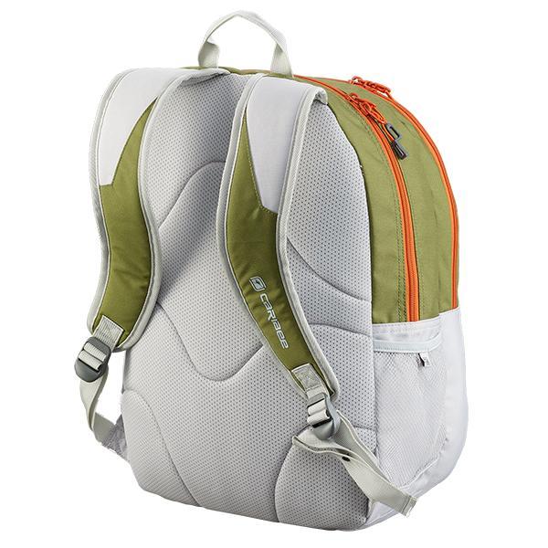 Caribee Recoil backpack olive/snow harness