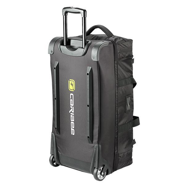 Caribee Scarecrow 70 trolley bag black rear