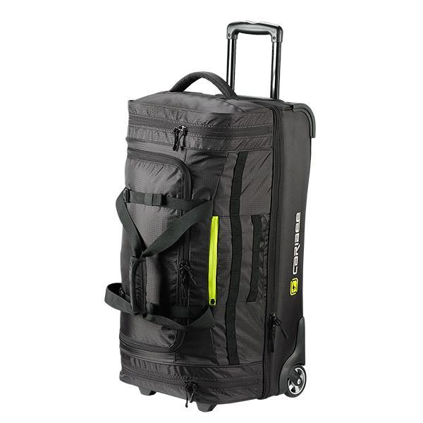 Caribee Scarecrow 70 trolley bag black front