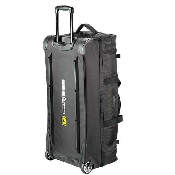Caribee Scarecrow 85 trolley bag black rear