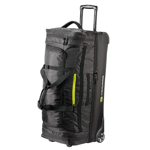 Caribee Scarecrow 85 trolley bag black front