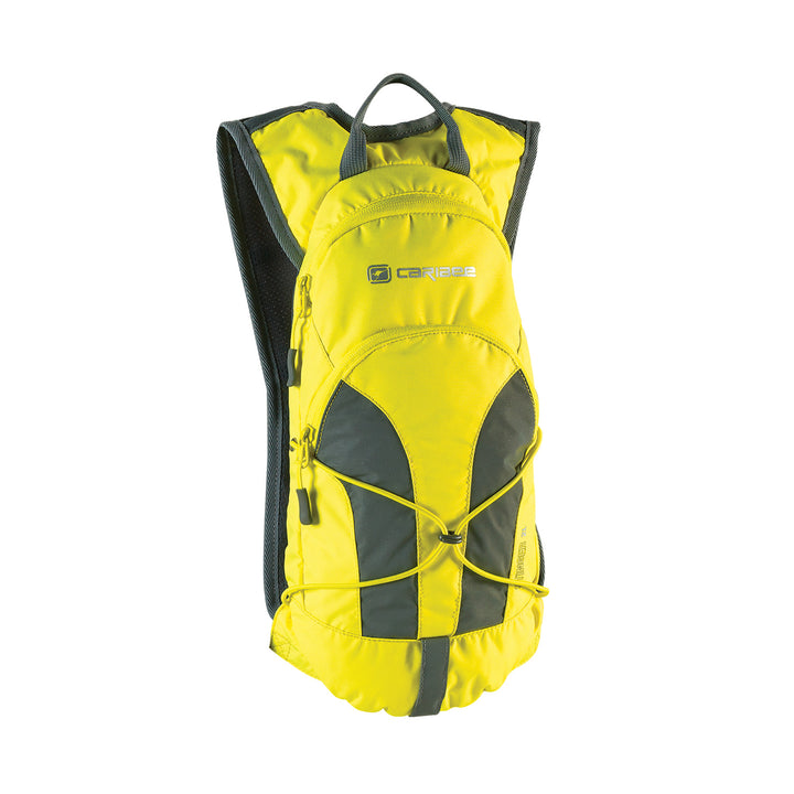 Caribee Stinger 2L hydration backpack in Yellow