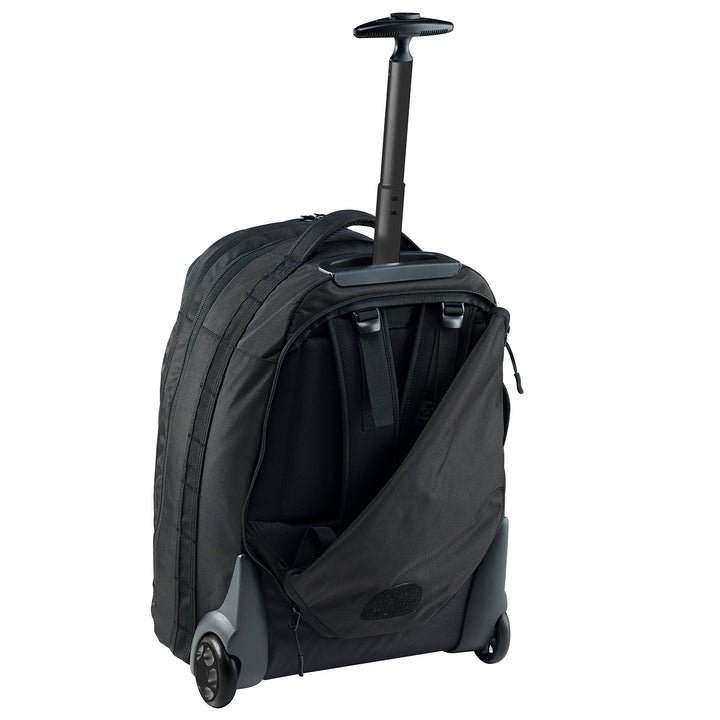 Stratos Hybrid 42L wheel aboard backpack