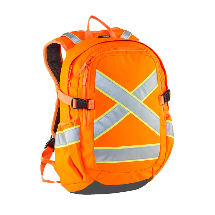 Caribee Switch Back D/N Safety Backpack - Orange front