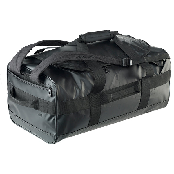 Caribee Titan 50L Gear Bag Black with shoulder straps